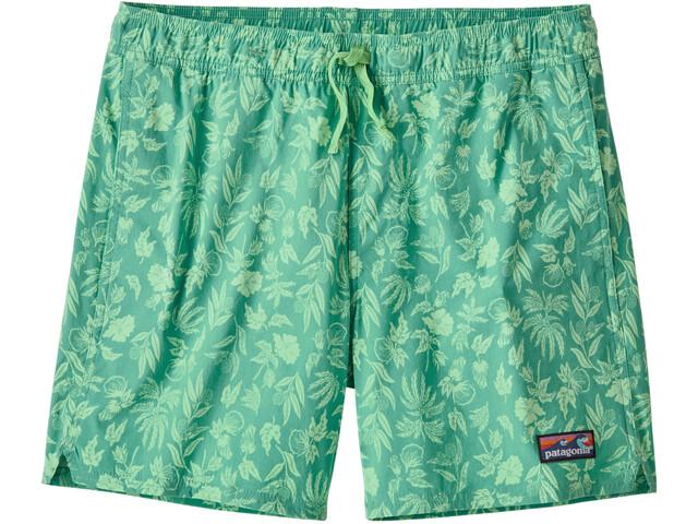 "Patagonia Stretch Wavefarer Volley Shorts 16"" Men, fiber flora/light beryl green"